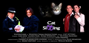 Cat Sitting New Poster