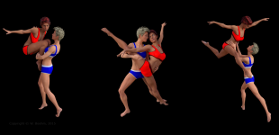 3D ART: Dancers